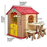 eyepower Kinderspielhaus mit Tisch und 2 Bänken - 9
