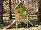Stelzenhaus MAYA aus Holz mit Rutsche - 2