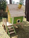Stelzenhaus MAYA aus Holz mit Rutsche - 3
