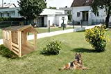 Holzspielhaus mit Veranda - 5