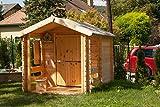 Holzspielhaus mit Veranda - 6