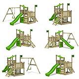 FATMOOSE Spielturm PowerPalm Triple XXL - 4