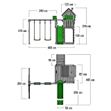 FATMOOSE Spielturm HappyHome Hot XXL - 5