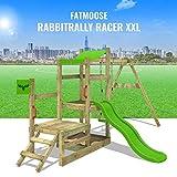 FATMOOSE Spielhaus RabbitRally Racer XXL - 3