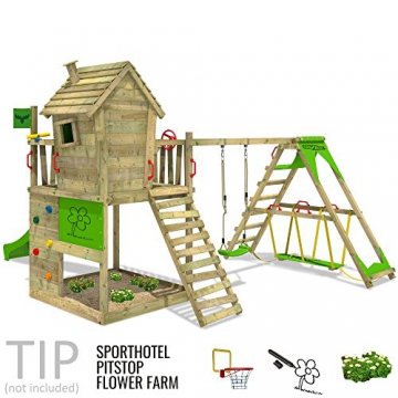 FATMOOSE Spielturm HappyHome Hot XXL
