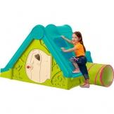 Kinderspielhaus mit Rutsche und Tunnel
