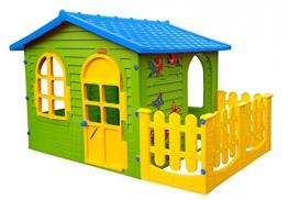 Spielhaus Keny Toys mit Terrasse XXL