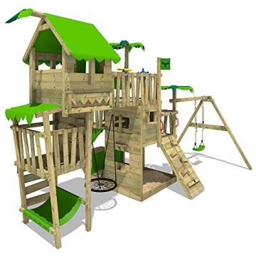 FATMOOSE Spielturm TropicTemple Tall XXL