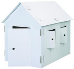Bastelkarton Spielhaus